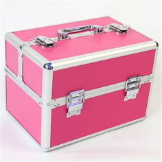 Makeup Storage Box, Make Up Storage, Makeup Box, Makeup Case, Makeup Organization, Storage Boxes, Closet Organization, Large Cosmetic Bag, Cosmetic Box