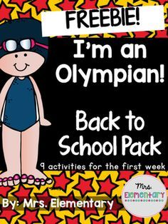 "Who's ready for the Olympic games??This freebie is from my  I'm An Olympian! Back to School Pack, just in time for the 2016 Rio Olympics! Get to know your students the first week of school while celebrating the Olympics!Included:-My Athlete Profile-""If I Were in the Olympics"" writing promptFor more Olympics resources, check out: I'm An Olympian!"
