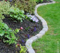 s 17 amazing garden features we ve been saving for summer, gardening, outdoor living, ponds water features, A pristine garden edge with stones