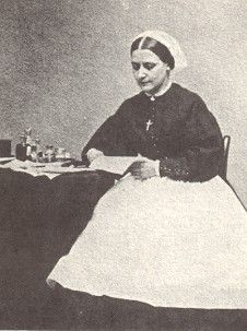 """Sarah Low, Civil War nurse from Dover. """"We are up at six, dress by gas-light. Our rooms are at the end of the wards and often just a curtain for privacy. The air is very bad and the ventilation poor. One has little appetite for food. There is often no competent head in the wards. Good bad and indifferent nurses, surgeons and attendants complicate matters. Some of the doctors are splendid men, others absolutely incompetent."""""""