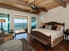 Bedroom of a house in  Santa Rosa Beach, Florida