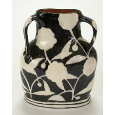 Vase Black and White Negative Space Profile  This is the work of Nancy Gardner.