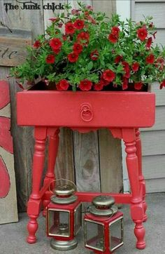 Refurbished DIY planter