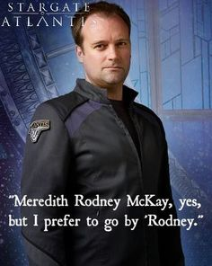 Meredith Rodney McKay