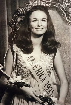 Miss America 1971, Phyllis George (Texas).  Miss South Carolina, Claudia Turner, was first runner-up.