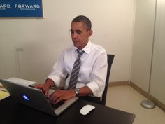 "President Obama does an ""Ask Me Anything"" on Reddit — so, so cool."