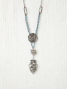 """""""Cheerful Turquoise Bead Pendant""""  Free People http://www.freepeople.com/accessories-jewelry/cheerful-turquoise-bead-pendant/#"""