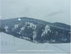 A snowy day in Bozeman, Montana