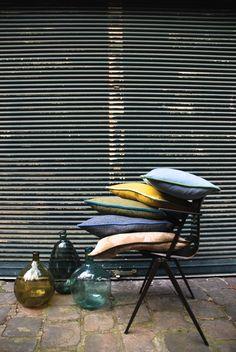 Tissus Antoine d'Albiousse Editions, stylisme par Oz & Babylone, photo par Virginie Bastié