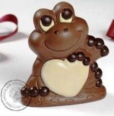 Vegan Frogs Chocolate #Frog Heart Chocolates upon Valentine Froggy Wedding Chocolate Cuteness Favor within Flavor Love