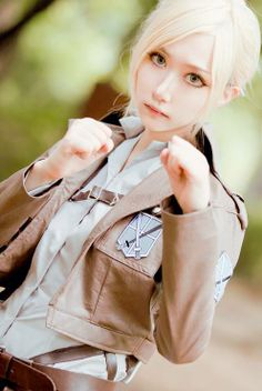 Annie / cosplay / SnK / Shingeki no Kyojin / Attack on Titan