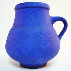 Hoy Keramik Vase • West German Pottery • Mid Century • Modernist