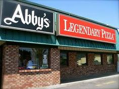 Grab a bite to eat at Abbys, Legendary Pizza! Corban University