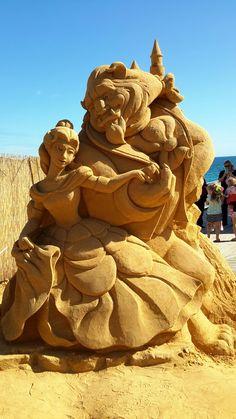 Beauty and The Beast ~ Disney Sand Art