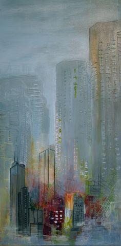 Karen Goetzinger - Untitled Memory - Mixed media
