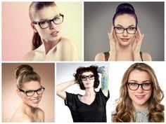 Frisurenstyling für Brillenträger - Brillen Trends & Themen