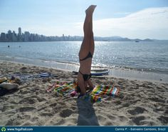 """#Yoga Poses Around the World: """"Headstand, by Camila P."""""""