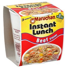 Maruchan Ramen Noodle Soup Mix with Chicken Flavor - Ramen Noodle Soup, Chicken Noodle Soup, Maruchan Ramen Noodles, Hot Snacks, Yummy Snacks, Soup Mixes, Lunch To Go, Lunch Time, Chicken Flavors