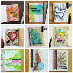 Handmade mini albums, scrapbooks, journals and book arts. find tutorials, videos, and instructions with monthly challenges. Diy Old Books, Album Maker, Good Day Song, Eye Tutorial, Super Healthy Recipes, Dinners For Kids, Kids Nutrition, Art Paintings, Scrapbooks