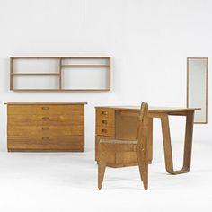 Marcel Breuer, Furniture Set for Bryn Mawr College, 1938.