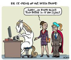 Blog: De IT-prins op het witte paard is (g)een sprookje Hamsters, Articles, Comics, Memes, Blog, Meme, Blogging, Cartoons, Comic