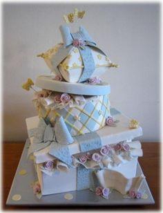 Baby shower cake ideas #babyshowercake #babyshower #cakecreations #cakedesigns #partyideas #baking #fondant