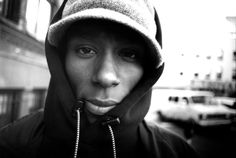 """Mike Schreiber, Mos Def, Limited Edition Print of 44, 645 Negative Gelatin Silver print, 16""""x20"""".....$675"""
