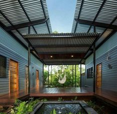 Off the grid shipping container home designs and shipping container home layout. Sea Container Homes, Building A Container Home, Storage Container Homes, Container Home Plans, Tiny Container House, Container Architecture, Farmhouse Interior, Farmhouse Style, Modern Farmhouse