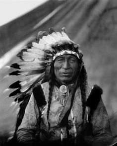 1905 Native American Indian CHIEF IRON TAIL -Lakota Sioux