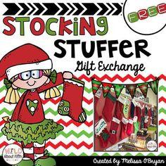 Stocking Stuffer Gift Exchange Freebie