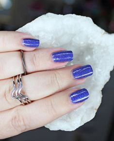KBShimmer Holo Can You Go- the Most Stunning Custom Blurple Holo for the Holomaniacs group with swatches Pin Interest, Let It Shine, Purple Makeup, My Nails, Nice Nails, First Blog Post, Beauty Review, Nail Art Galleries, Holiday Nails