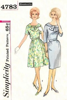 Simplicity 1960s pattern