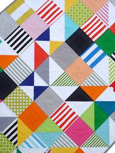 Mystery Puzzle Quilt by Red Pepper Quilts