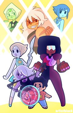 Another SU print! I'm table #802 at Fanime; they'll also be available online later, and at whatever other cons I go to :>