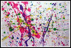 Gribouillage façon Pollock