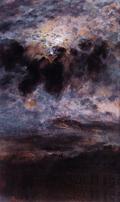 Adolph von Menzel, Looking at the Moon