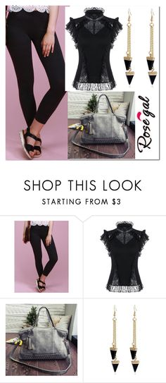 """""""rosegal"""" by melee-879 ❤ liked on Polyvore"""