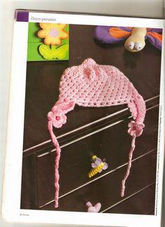 Tejidos realizados con amor para ti ...  Gorros de bebé Gorro Bebe c1941cb496b