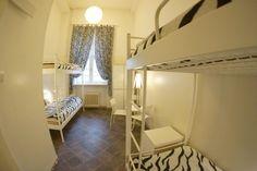 Oki Doki Hostel's 4 Bed Dorm has a private bathroom.