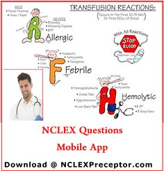 NCLEX Questions and test prep mobile app to help RN pass NCLEX exam. Free download. NCLEX tips and NCLEX study questions available at www.nclexpreceptor.com #nclexpreceptor