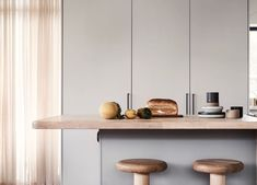 From a lovely kitchen location Interior Stylist, Interior Design, Interiors Magazine, Nordic Home, Big Windows, Better Together, White Walls, Grey And White, Rum