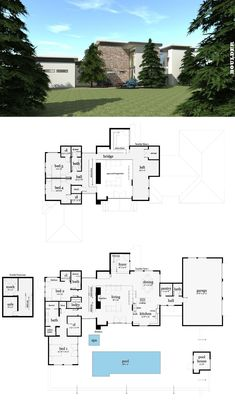 Villa c gal marom architects design elements pinterest boulder house plan malvernweather Image collections