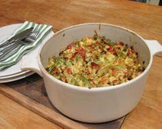 Chicken And Asparagus Pasta Bake Recipe - Chicken