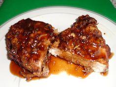 Double Crunch Honey Garlic Pork Chops