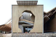 Guest House : Xiangshan Campus : China Academy of Art (2013) | Wang Shu : Amateur Architecture Studio | Image : Edward Denison