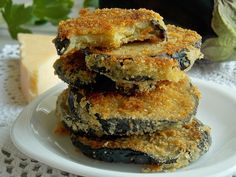 Bakłażan w parmezanie | KuchniaMniam Salmon Burgers, Ethnic Recipes, Food, Essen, Meals, Yemek, Eten