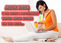 write PROFESSIONAL Articles 1000words in 4 hours plus bonuses by icesnowprincess