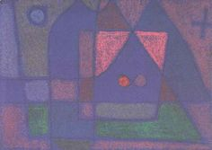 Growth of the night plants, 1922 by Paul Klee, Bauhaus. Expressionism. flower…