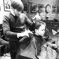 WEBSTA @ sharpesbarbers - Great action shot of Artie having is #SHARPE haircut from Dan ✂️Thanks @adambrooksessex ✂️ All ages are welcome into our shop! Open 6 days a week! (See Bio) ▪️▪️www.sharpesbarbers.com▪️#looksmartbesharpe #sharpes #barber #loughton #gentleman #gents #gentsfashion #boyshair #cut #barberlife #barbering #barberconnect #essex #london