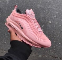 nike, pink, and shoes image Cute Sneakers, Cute Shoes, Me Too Shoes, Shoes Sneakers, Shoes Heels, Nike Air Force 1, Nike Air Max, Sock Shoes, Shoe Boots